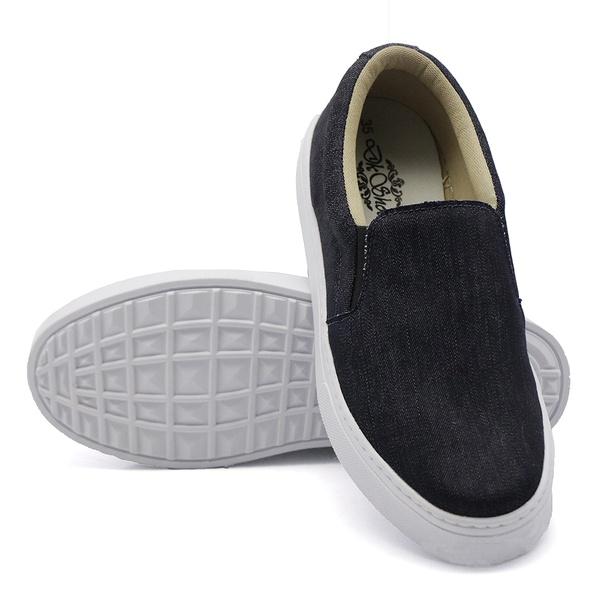 Slip On Liso Jeans DKShoes