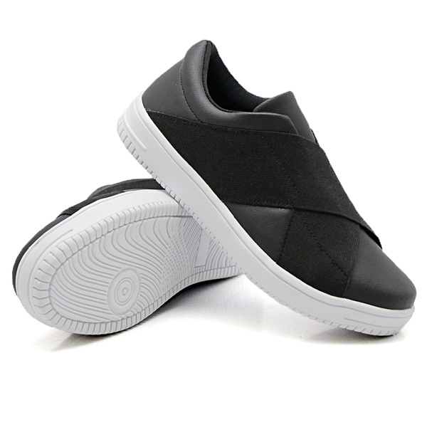 Slip On Siena Elástico Preto DKShoes