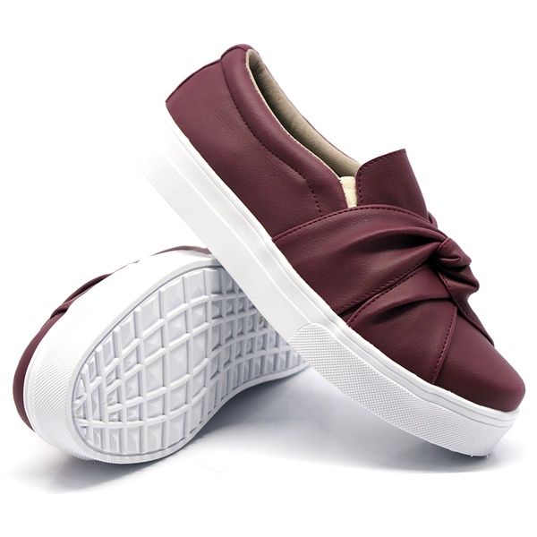 Slip On Nó Marsala DKShoes