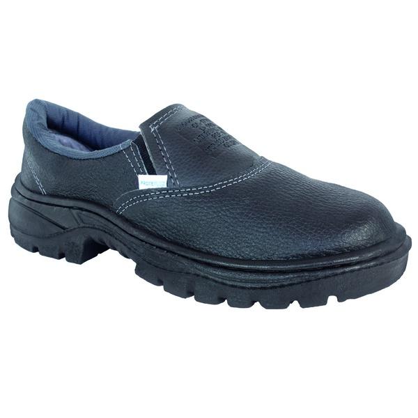 Sapato Segurança Elástico Bico Aço Monodensidade PPP17 - PROTEPLUS