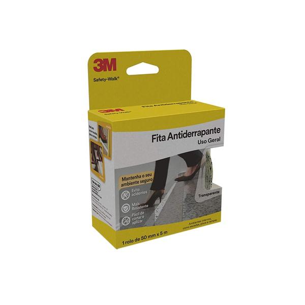 Fita Antiderrapante Transparente 50 mm x 5 m Safety-Walk - 3M