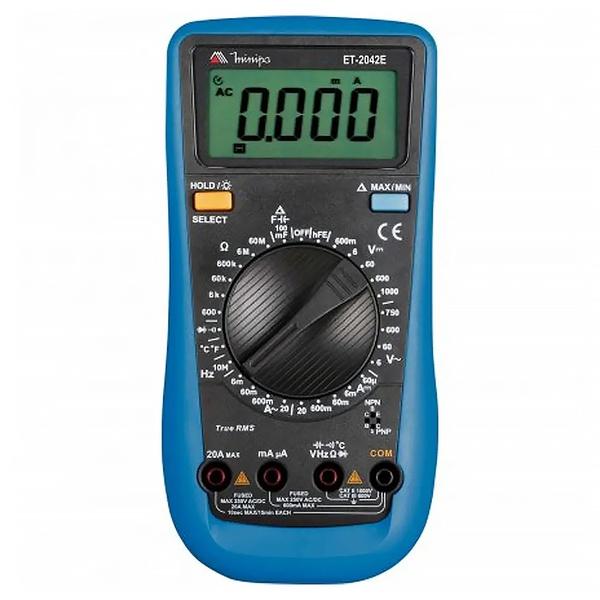 Multímetro Digital ET-2042E - Minipa