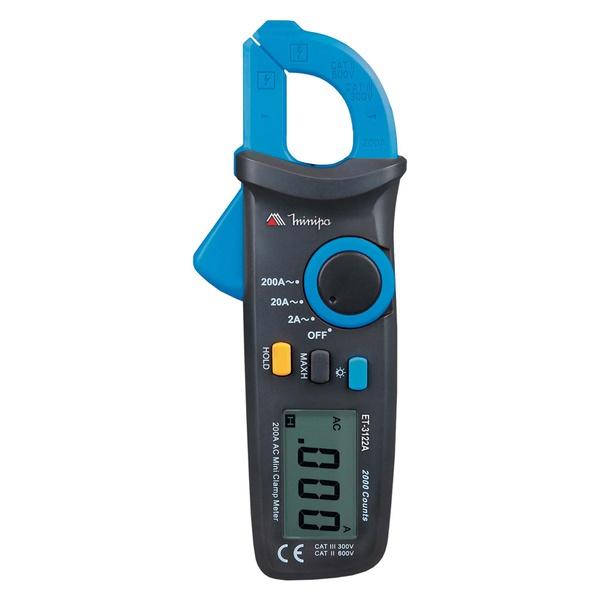 Alicate Amperímetro ET-3122A - Minipa
