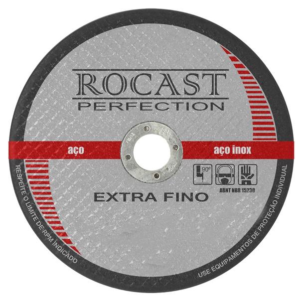 Disco de Corte Extra Fino 4,1/2pol X 1,60mm 134,0003 ROCAST