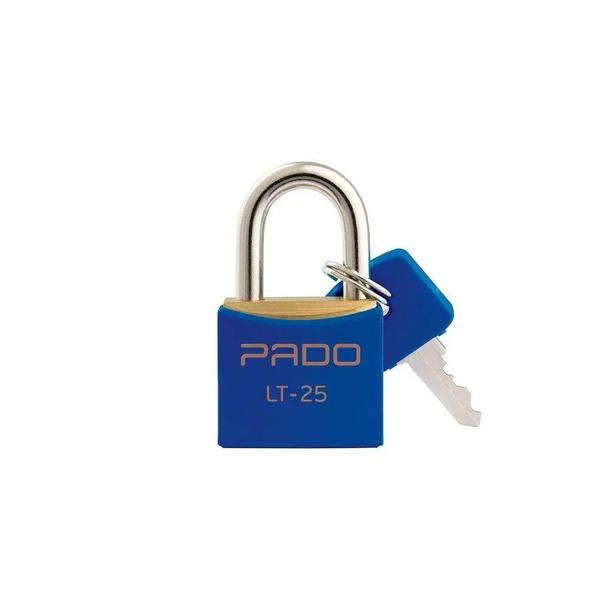 Cadeado Cores Azul 25mm - LT-25 - PADO