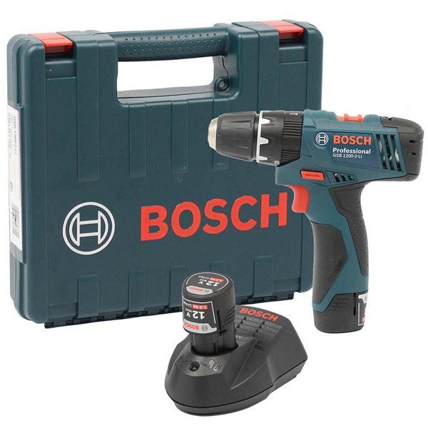Furadeira Impacto/Parafusadeira à Bateria GSB 1200-2-Li - BOSCH