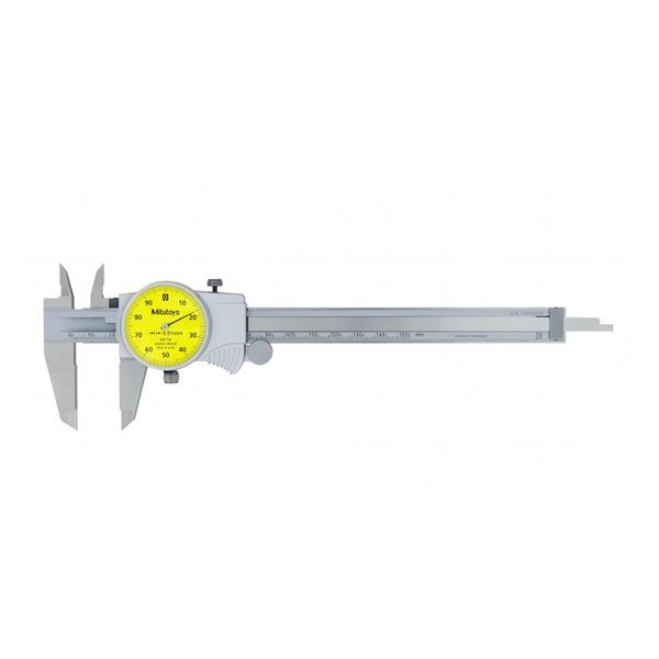 Paquímetro com Relógio 150mm x 0,01mm - 505-732 - Mitutoyo