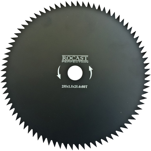 Lâmina para Roçadeiras 80 dentes 255 X 25,4mm 305,0004 ROCAST
