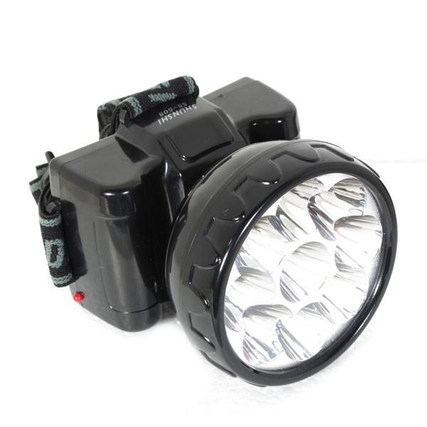 Lanterna para Cabeça 9 LEDs 351,0003 NOLL