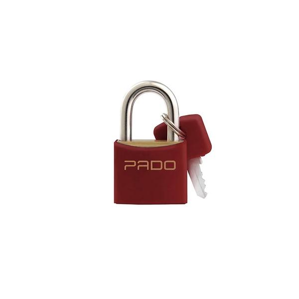 Cadeado Cores Vermelho 20mm - LT-20 - PADO