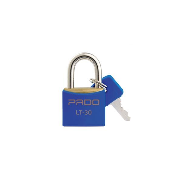 Cadeado Cores Azul 30mm - LT-30 - PADO