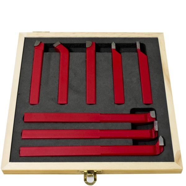 Jogo de Ferramentas Soldadas 8 Peças Bitola do Quadrado 10x10mm 303,0002 ROCAST
