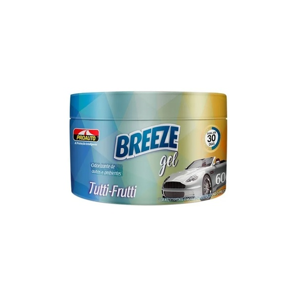 Odorizante Breeze Gel Tutti-Frutti 60 mL - Proauto