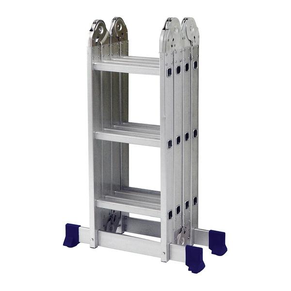 Escada Multifuncional com Plataforma 4x3 12 Degraus - MOR