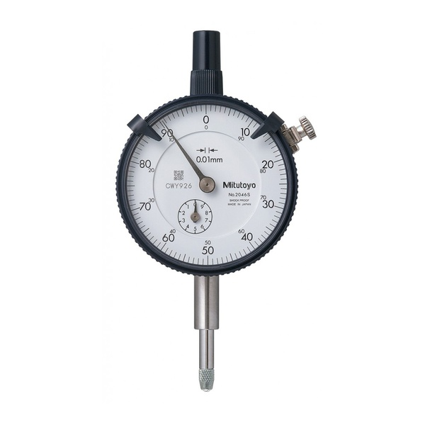 Relógio Comparador Modelo Com Curso Longo 10mm 0,01mm 2046S - Mitutoyo