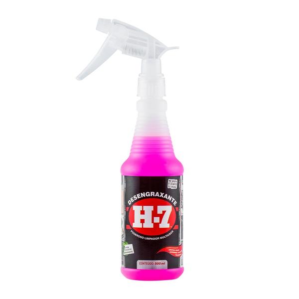 Desengraxante Removedor Multiuso H-7 (500 mL) Spray com Gatilho - H7