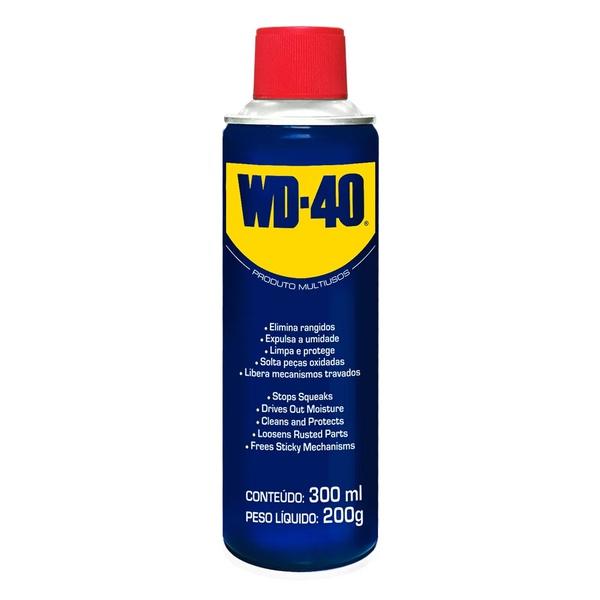 Óleo Lubrificante Desengripante Multiuso 300 mL - WD-40