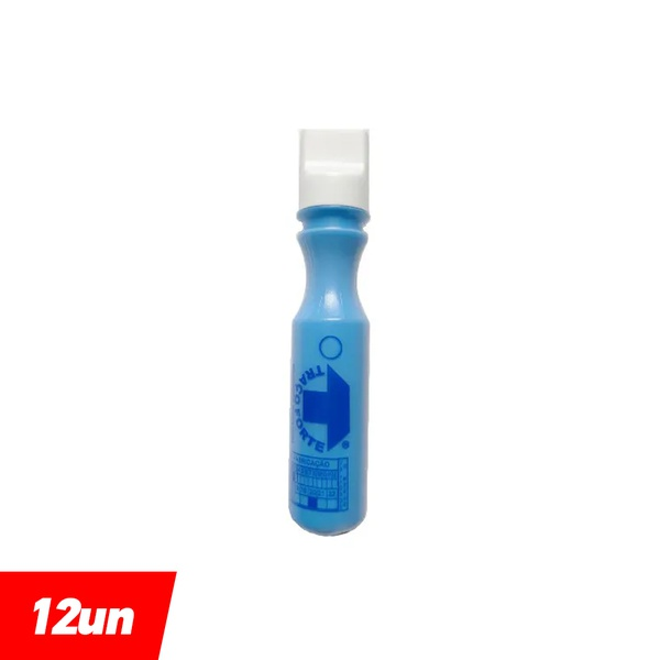 Marcador Industrial Azul 3mm 60ml (12 Unidades) - Baden