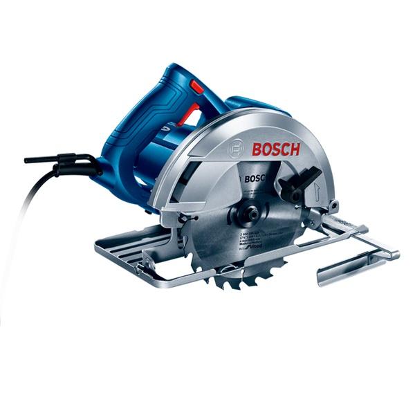 Serra Circular Bosch GKS 150 1500W com 2 Discos de serra e Guia paralelo