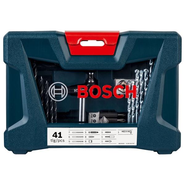 Kit de Pontas e Brocas Bosch V-Line 41 Peças