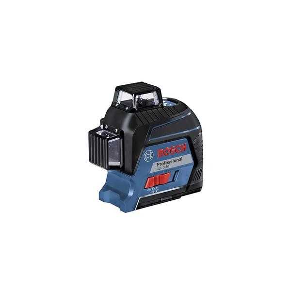 Nível à Laser 3 Linhas 30 Metros Vermelho GLL 3-80 - Bosch