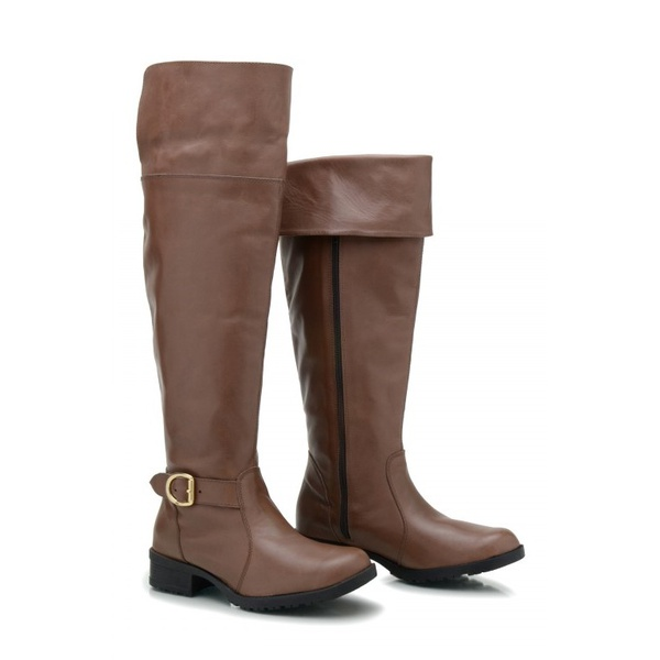 BOTA COURO LEGÍTIMO OVER KNEE BRANDY