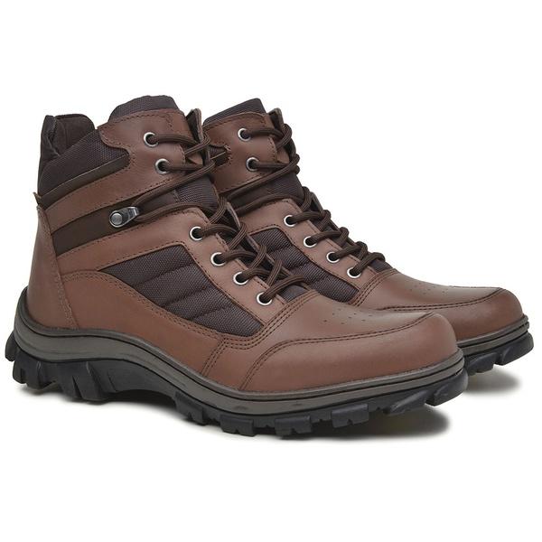 Bota Adventure Lock Confort Marrom Whisky Rota Shoes