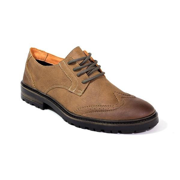Sapato Masculino Oxford Café