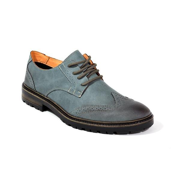 Sapato Masculino Oxford Azul