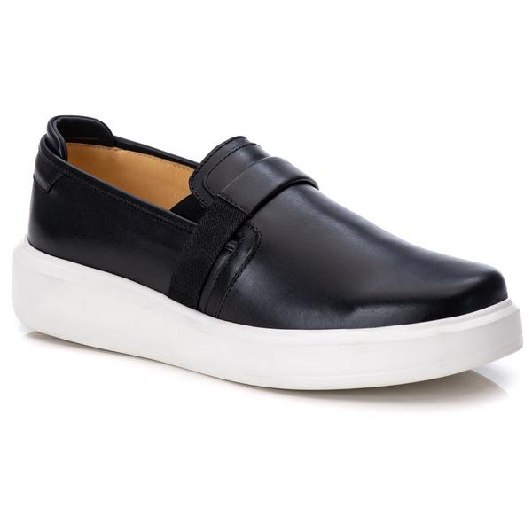 Loafer Iate Masculino Premium Couro Legítimo Preto