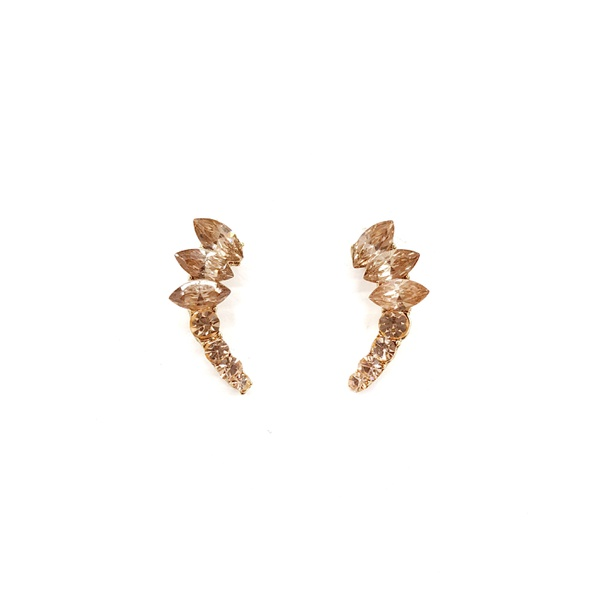COD12435 BRINCO EARCUFF LIGHT PEACH
