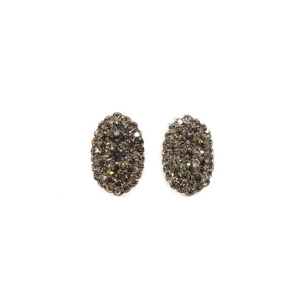 brinco prata black diamond 12579