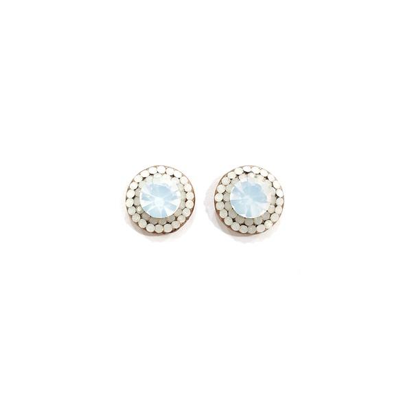 brinco vintage opal 13153