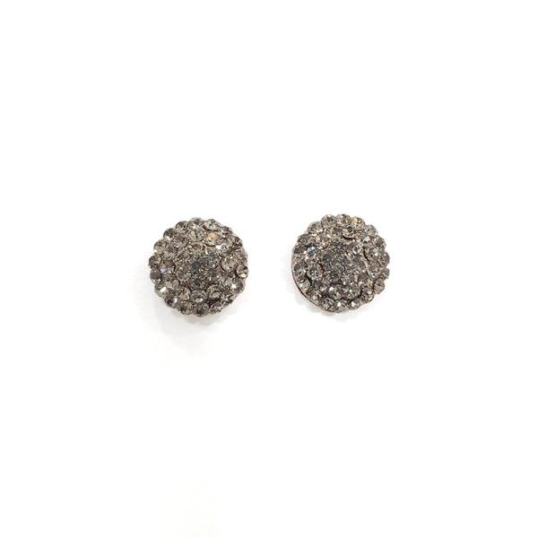 COD13157 BRINCO VINTAGE COM PEDRAS BLACK DIAMOND