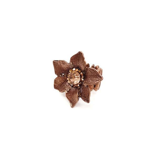 Anel de flor vintage 13271