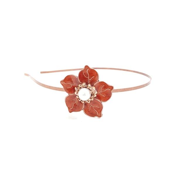 Tiara de flor vintage 13495