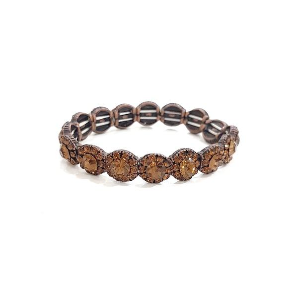 Bracelete com strass vintage 13585