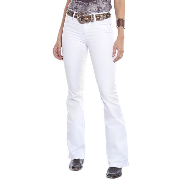 Calça Tassa Branca Feminina - 86699 - Salomão Country