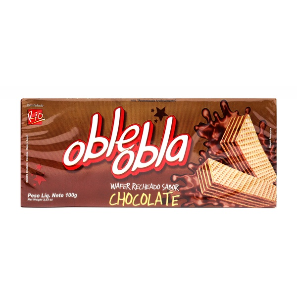Wafer Oble Obla 100g Chocolate