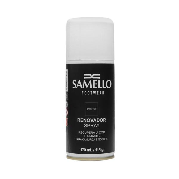AC - Renovador Spray Preto - Ativa As Cores Dos Calçados E Acessórios De Couro Samello