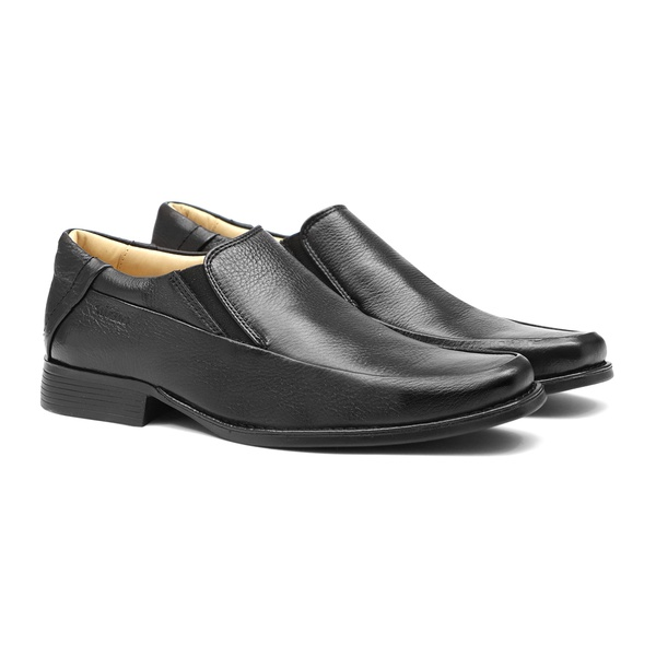 Comfort Gel COLUMBRES Preto - Sapato Masculino Loafer Samello