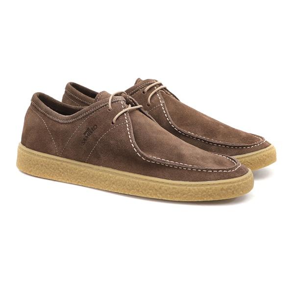 Casual DAKAR Camurça Rato - Sapato Masculino Loafer Samello