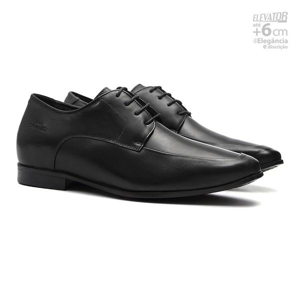 Elevator Social S/B IMPÉRIO Preto - Sapato Masculino Oxford Samello
