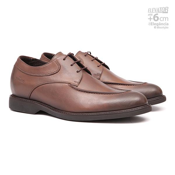 Elevator Casual s/b COUPE Cuoio - Sapato Masculino Oxford Samello