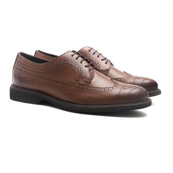 Casual SONATA Cuoio - Sapato Masculino Derby Samello