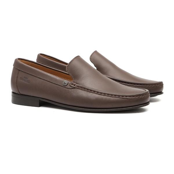 Sapato Masculino Loafer Astra Café Samello