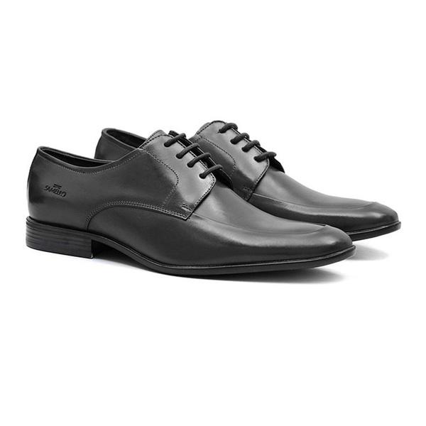Social s/b IMPÉRIO Preto - Sapato Masculino Oxford Samello