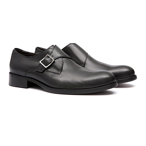 Social S/C VELAR Preto - Sapato Masculino Monkstrap Samello