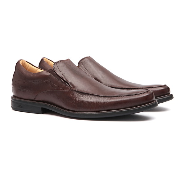 Comfort Gel S/B DOBLÔ Café - Sapato Masculino Loafer Samello