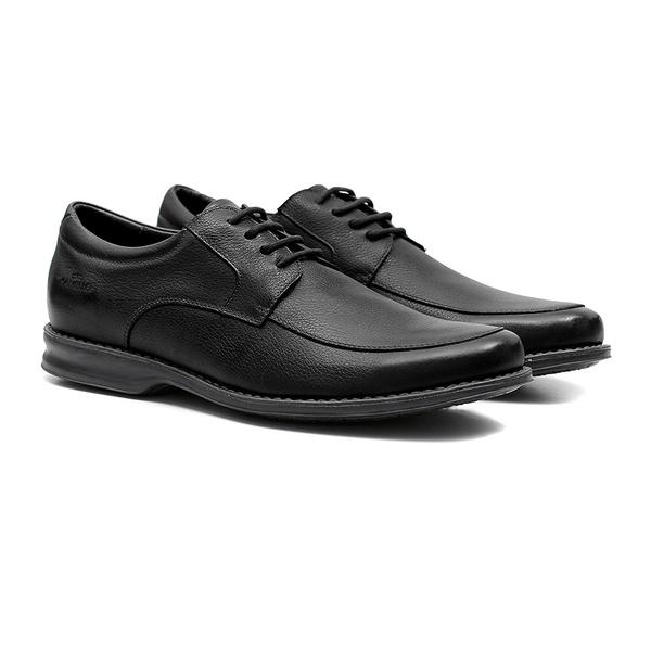 Comfort Gel ELK Preto - Sapato Masculino Oxford Samello